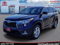 Used 2014 Toyota Highlander Limited SUV All-wheel Drive for Sale in Riverhead, NY