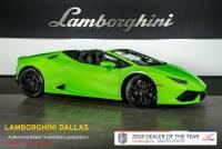 Used 2017 Lamborghini Huracan LP610-4 Spyder For Sale Richardson,TX | Stock# L1155 VIN: ZHWUR1ZF5HLA05591