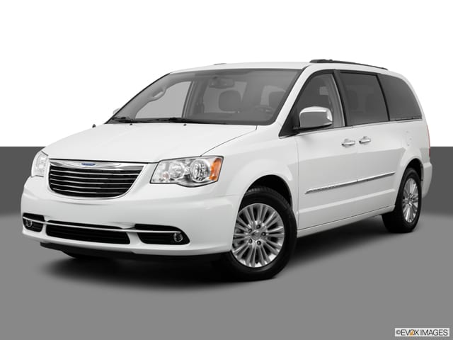 Photo Used 2013 Chrysler Town  Country TOURING W NAVIGATION TVDVD STOW N GO VAN