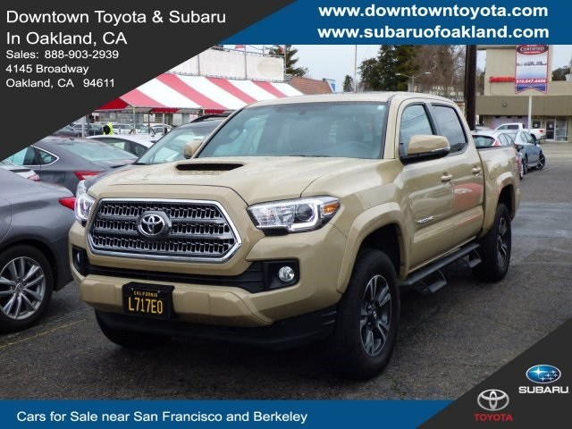 Photo 2017 Toyota Tacoma Truck Double Cab 4x4 serving Oakland, CA