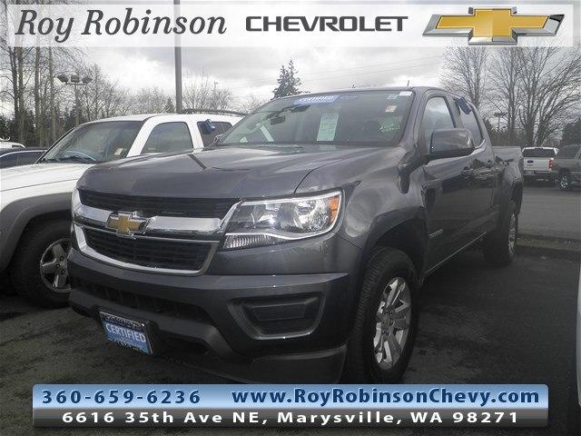 Photo Certified Pre- 2017 Chevrolet Colorado LT in Marysville, WA