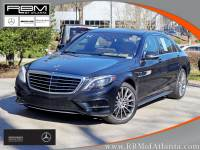 Certified Pre-Owned 2014 Mercedes-Benz S 550 Sedan With Navigation