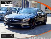 Certified Pre-Owned 2013 Mercedes-Benz SL-Class SL 63 AMG® Roadster With Navigation