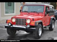 2004 Jeep Wrangler Unlimited 2dr 4X4 for sale in Flushing MI