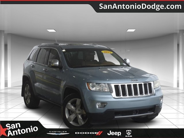 Photo Used 2012 Jeep Grand Cherokee 4WD 4dr Overland Summit Sport Utility