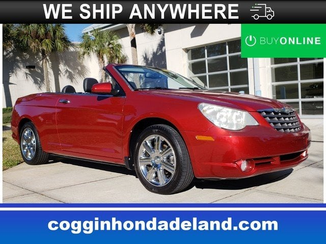Photo Pre-Owned 2010 Chrysler Sebring Limited Convertible in Jacksonville FL