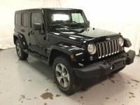 Used 2018 Jeep Wrangler JK Unlimited Sahara Sport Utility