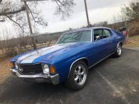 1972 Chevrolet Chevelle -FRAME OFF RESTORED 2017-SS GAUGES-AIR CONDITIONING-SOLID MUSCLE CAR-