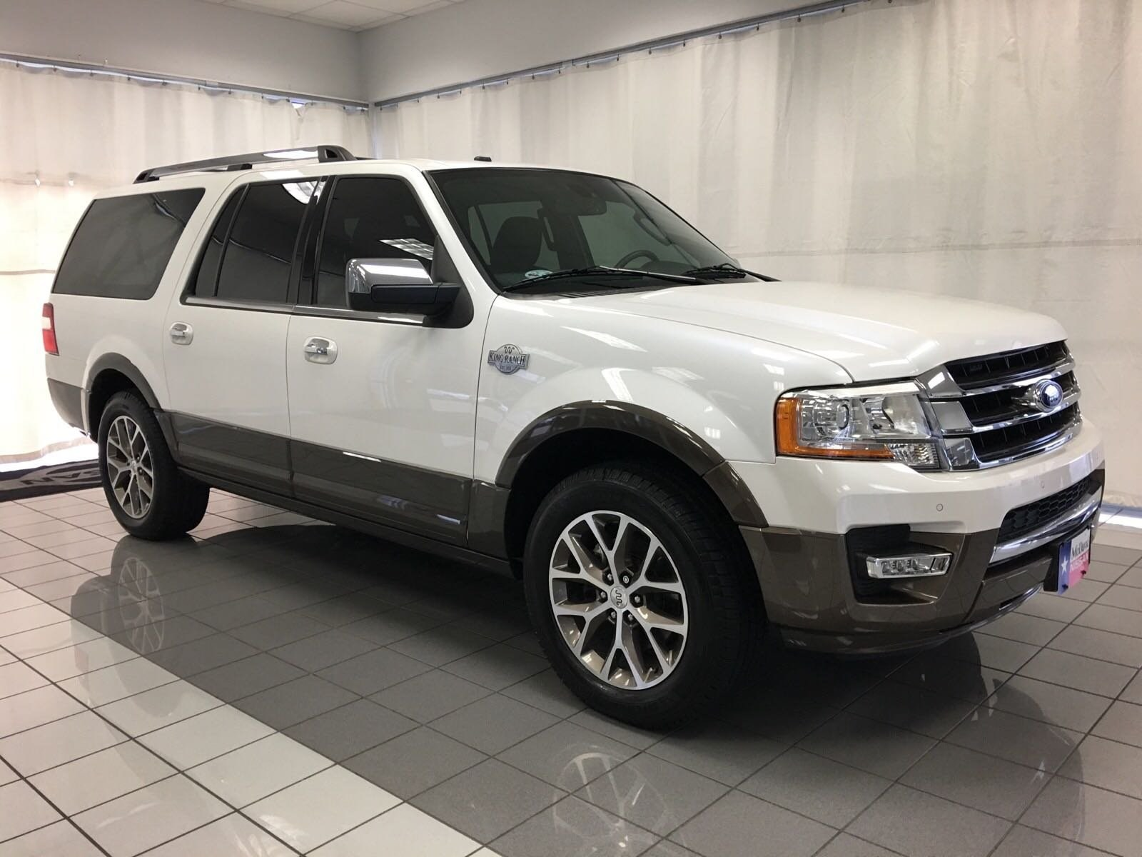 Photo Used 2017 Ford Expedition EL King Ranch For Sale  Houston TX  Stock HEA82349