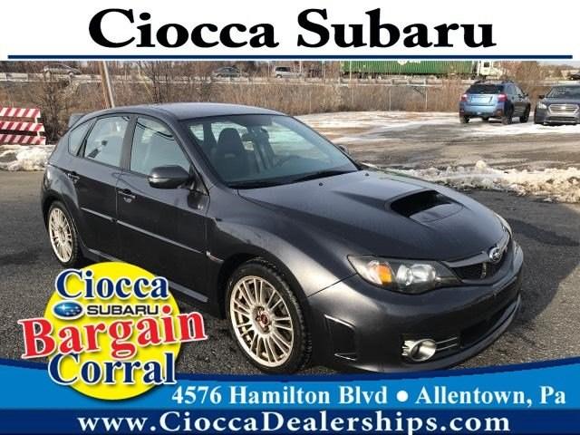 Photo Used 2009 Subaru Impreza WRX STI with Silver Wheels For Sale in Allentown, PA