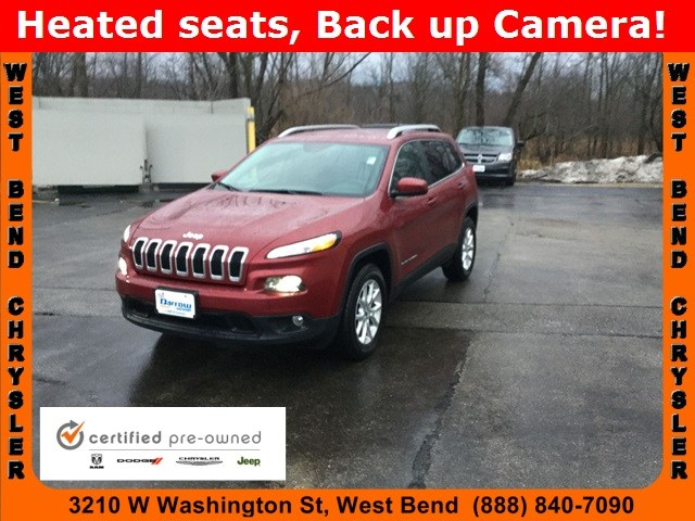 Photo 2017 Jeep Cherokee Latitude 4x4 SUV For Sale in Madison, WI