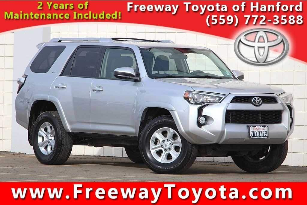 Photo 2016 Toyota 4Runner SUV 4x4 - Used Car Dealer Serving Fresno, Central Valley, CA