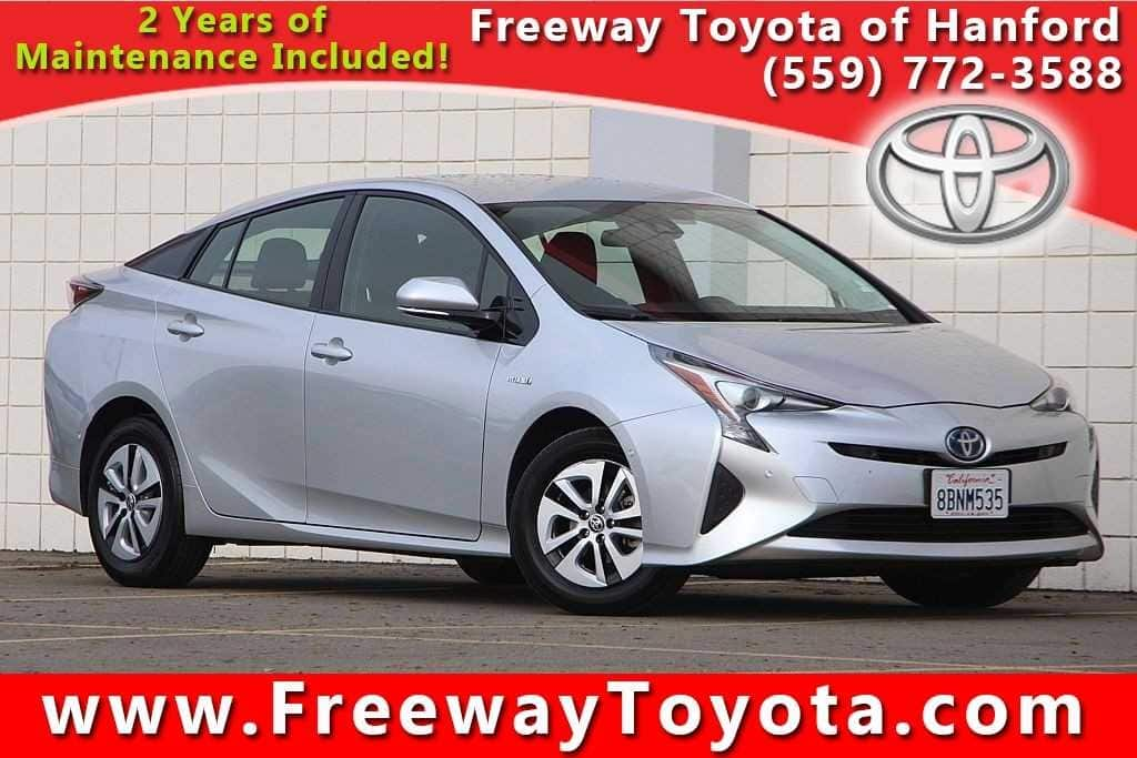Photo 2017 Toyota Prius Hatchback Front-wheel Drive - Used Car Dealer Serving Fresno, Central Valley, CA