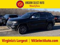 Used 2017 Jeep Grand Cherokee Limited 4x4 SUV for sale in Amherst, VA