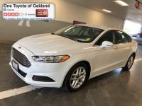 Pre-Owned 2016 Ford Fusion SE Sedan in Oakland, CA