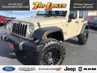 Used 2017 Jeep Wrangler Unlimited Sport Sport Utility