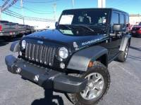 Used 2015 Jeep Wrangler Unlimited Rubicon Sport Utility