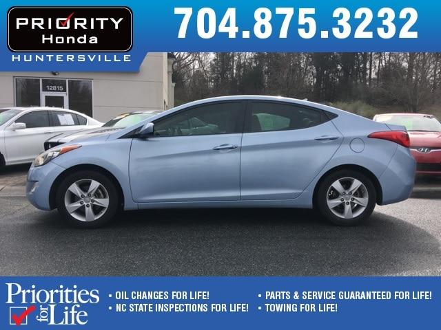 Photo Used 2012 Hyundai Elantra For Sale in Huntersville NC  Serving Charlotte, Concord NC  Cornelius. VIN KMHDH4AE8CU470927