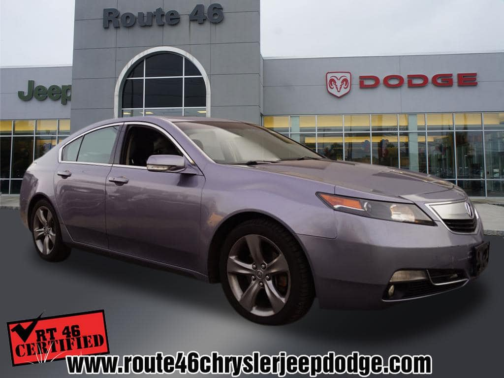 Photo Used 2012 Acura TL TL SH-AWD with Technology Package Sedan For Sale in Little Falls NJ