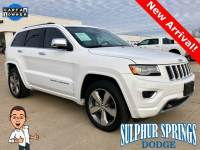 Used 2015 Jeep Grand Cherokee Overland Sport Utility
