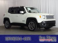Certified 2017 Jeep Renegade Limited FWD SUV in San Diego