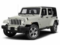 Certified Pre-Owned 2017 Jeep Wrangler JK Unlimited Sahara 4x4 SUV in Mishawaka