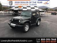 2011 Jeep Wrangler 4WD 2dr Sahara