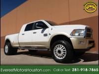 2012 Dodge Ram 3500 Laramie Longhorn Mega Cab 4WD DRW SWB 1-OWNER