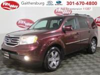 Used 2013 Honda Pilot Touring w/RES/Navi 4WD for sale in Rockville, MD