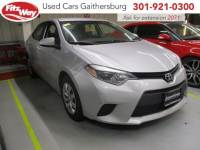 Used 2014 Toyota Corolla for sale in Rockville, MD