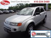 Used 2004 Saturn VUE 4 CYL for sale in Rockville, MD