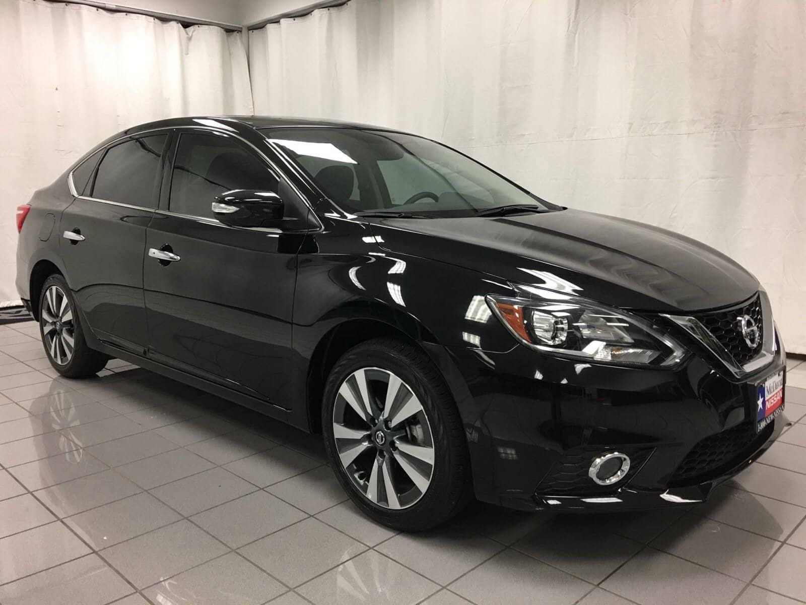 Photo Used 2018 Nissan Sentra For Sale at David McDavid Nissan  VIN 3N1AB7AP7JY238375