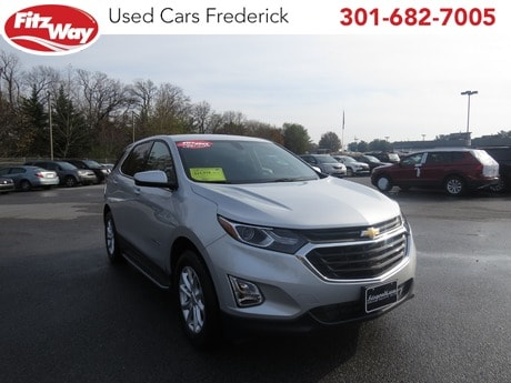 Photo Used 2018 Chevrolet Equinox LT w1LT for sale in Rockville, MD