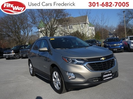 Photo Used 2018 Chevrolet Equinox LT w2LT for sale in Rockville, MD