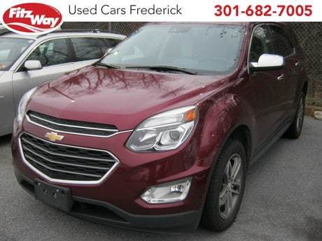Photo Used 2016 Chevrolet Equinox LTZ for sale in Rockville, MD