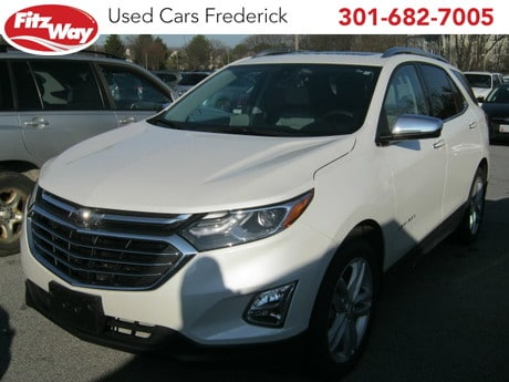 Photo Used 2018 Chevrolet Equinox Premier w1LZ for sale in Rockville, MD