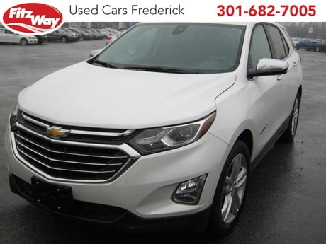 Photo Used 2018 Chevrolet Equinox Premier w2LZ for sale in Rockville, MD