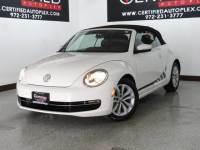 2014 Volkswagen Beetle Convertible CONVERTIBLE TDI HEATED LEATHER SEATS BLUETOOTH KEYLESS GO PUSH B