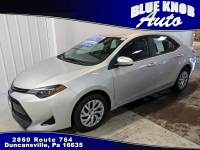 2018 Toyota Corolla LE Sedan in Duncansville | Serving Altoona, Ebensburg, Huntingdon, and Hollidaysburg PA