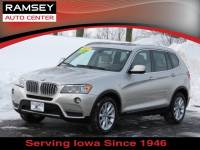 Used 2014 BMW X3 AWD Xdrive28i For Sale near Des Moines, IA
