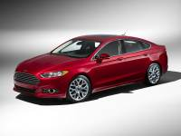 Used 2014 Ford Fusion Titanium Sedan FWD For Sale in Houston