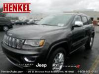 PRE-OWNED 2017 JEEP GRAND CHEROKEE OVERLAND 4X4 4WD