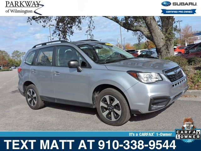 Photo Certified Used 2018 Subaru Forester 2.5i For Sale  Wilmington NC