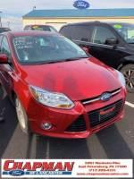2012 Ford Focus SEL Sedan 4-Cylinder DGI Flex Fuel DOHC