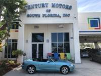 2001 Mazda MX-5 Miata Base 5 Speed Cloth Power Windows Clean CarFax