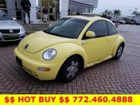 Pre-Owned 2000 Volkswagen New Beetle 2dr Cpe GLS Turbo Auto