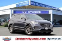 Certified Pre-Owned 2018 Hyundai Santa Fe Sport 2.4L SUV For Sale Stockton, California