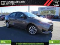 Used 2017 Toyota Corolla LE offered at $12,915, {payment_t1? for $205 a month in Johnson City TN | Tri-Cities Nissan