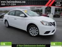Used 2016 Nissan Sentra FE S offered at $12,791, {payment_t1? for $203 a month in Johnson City TN | Tri-Cities Nissan