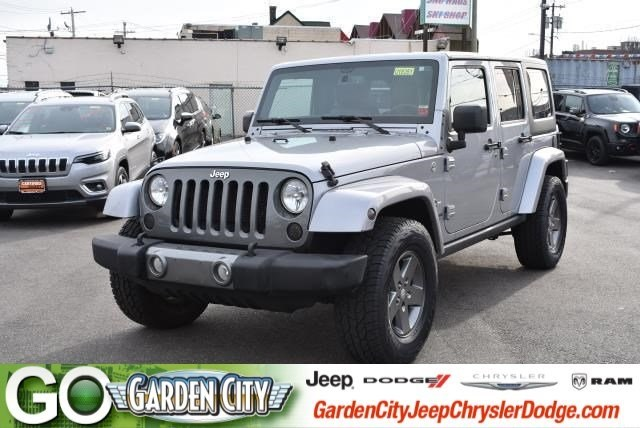 Photo Used 2015 Jeep Wrangler Unlimited Freedom Edition 4WD Freedom Edition Ltd Avail For Sale  Hempstead, Long Island, NY